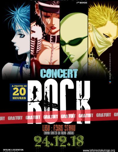 Concert rock